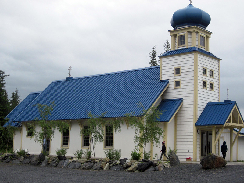 Close up of the handsome church