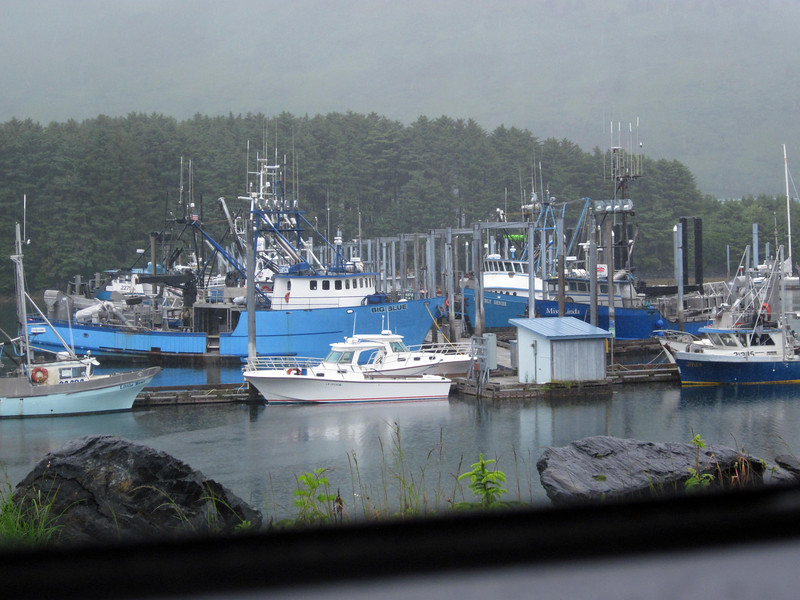 Kodiak's small-boar harbor