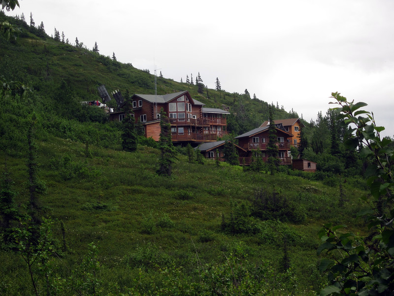 We return to  Skyline Lodge, our Kantishna home for two nights.