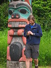 Another totem at UAS--University of Alaska Southeast