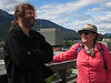 Nathan and  Pat--our second Juneau hostess