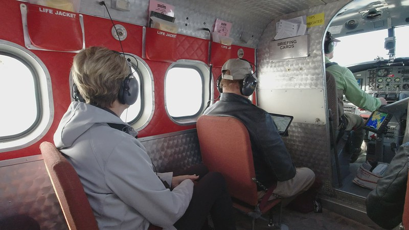 Video Click Image - Onboard Bald Mountain Air for our flight