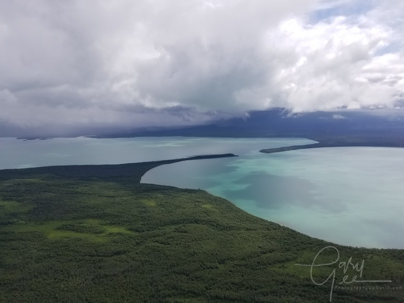 The scenery by small float plane was spectacular! - Phone shots