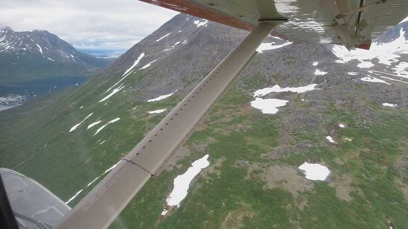 Video - Literally flying amongst the mountain tops!