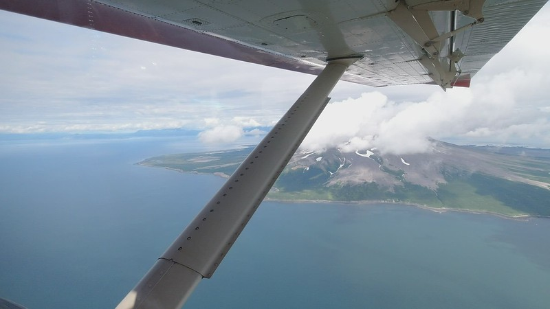 Video - Mount St. Augustine Volcano - Close up fly by video is in a video posted a few down from this one