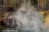 Liard Hot Springs along the Alaska Highway in Canada.<br /> October 2008