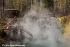 Liard Hot Springs along the Alaska Highway in Canada.<br /> October 2008
