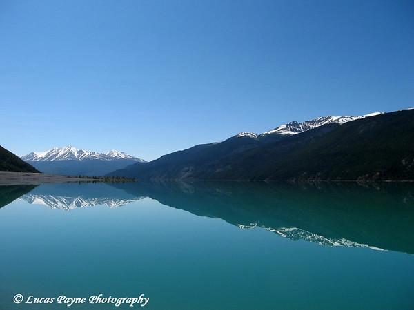 Muncho Lake Reflection<br /> 2006