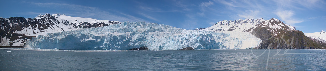 Aialik Glacier in Kenai Fjords National Park, Alaska
