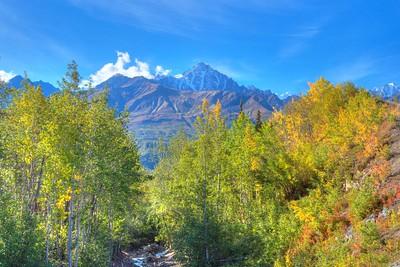 Beautiful Mountain View Alaska
