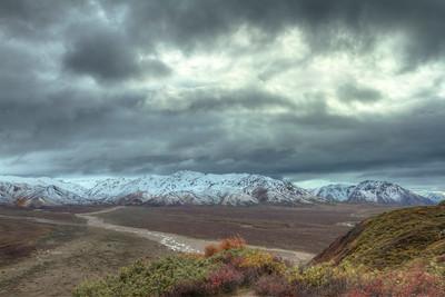 The tundra in Alaska