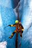 Climbing on Knik Glacier.