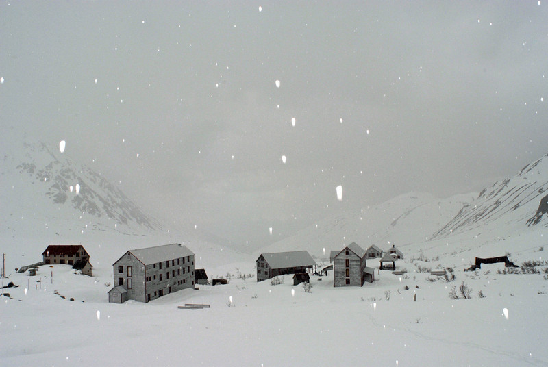 Independance Mine in the Talkeetna Mountains.