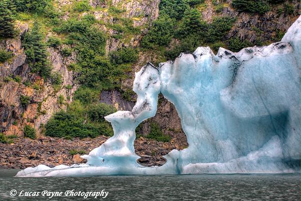 Iceberg at Portage Lake<br /> August 02, 2010
