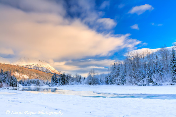 Jim's Landing along the Kenai River<br /> HDR<br /> January 22, 2011