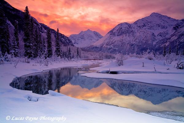 Sunrise Eagle River Nature Center