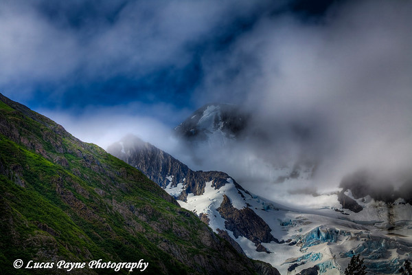 Byron Glacier<br /> August 02, 2010