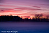 Sunset over Westchester Lagoon in Anchorage, Alaska<br /> January 30, 2010