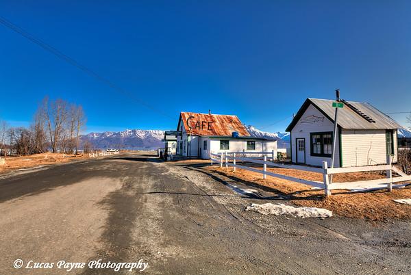 Downtown Hope, Alaska<br /> April 15, 2011<br /> HDR