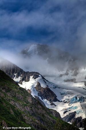 Byron Glacier<br /> August 02, 2010
