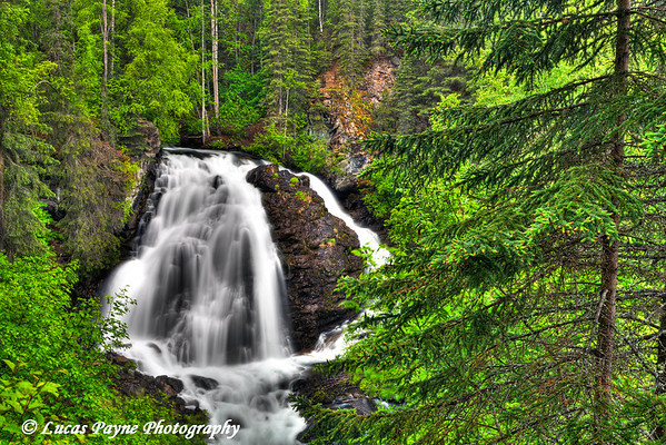 South Fork Eagle River Falls near Eagle River<br /> June 14, 2011<br /> HDR