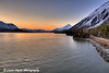 Sunrise over Turnagain Arm near Hope, Alaska<br /> April 15, 2011<br /> HDR