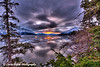 Spring Sunrise over Turnagain Arm and the Chugach Mountains from the Hope Highway <br /> HDR<br /> March 21, 2011