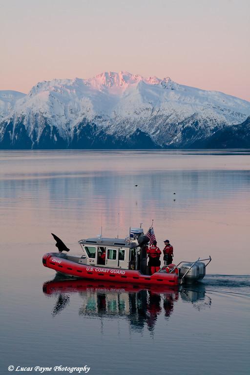 U.S. Coast Guard at Port Valdez.<br /> November 26, 2010