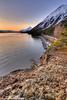 Sunrise over Turnagain Arm near Hope, Alaska<br /> April 15, 2011<br /> HDR