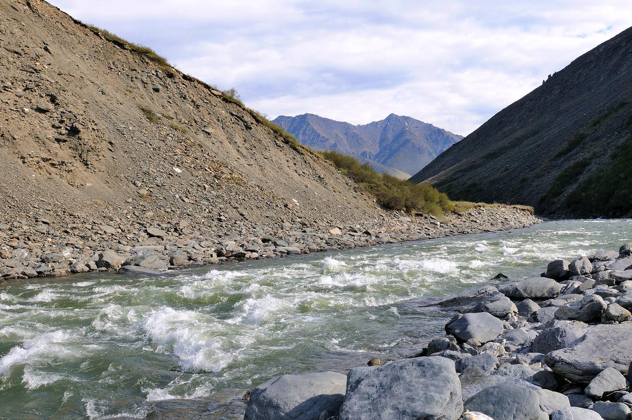 Kongagkut River rapids