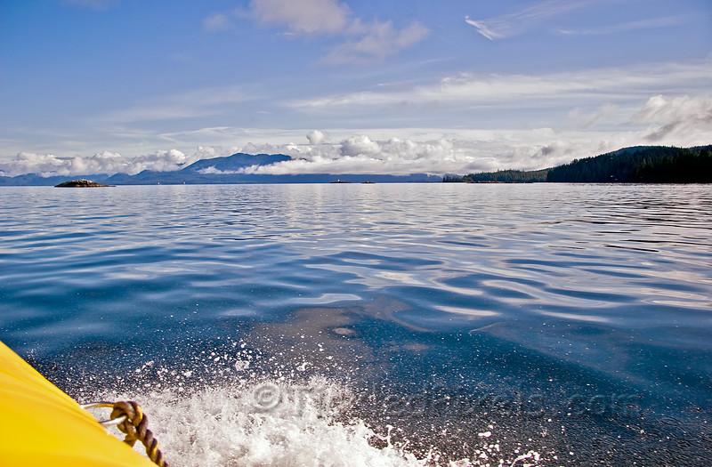 Toward Betton Island, Alaska