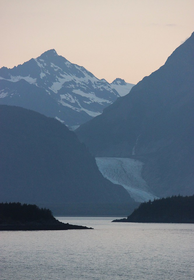 Late Evening Glacier