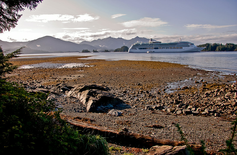 Radiance of the Seas in Sitka Sound