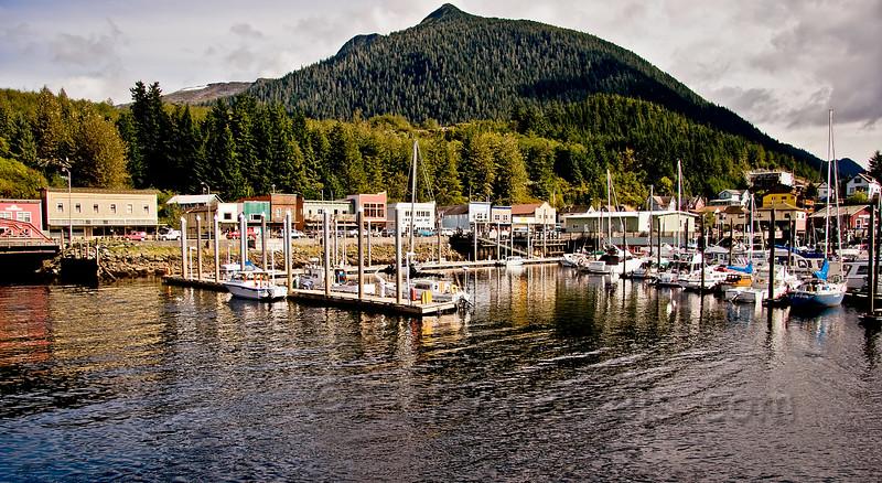 Thomas Basin Boat Harbour, Ketchikan