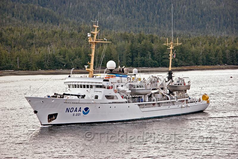 NOAA Ship Rainier S221 at Ketchikan