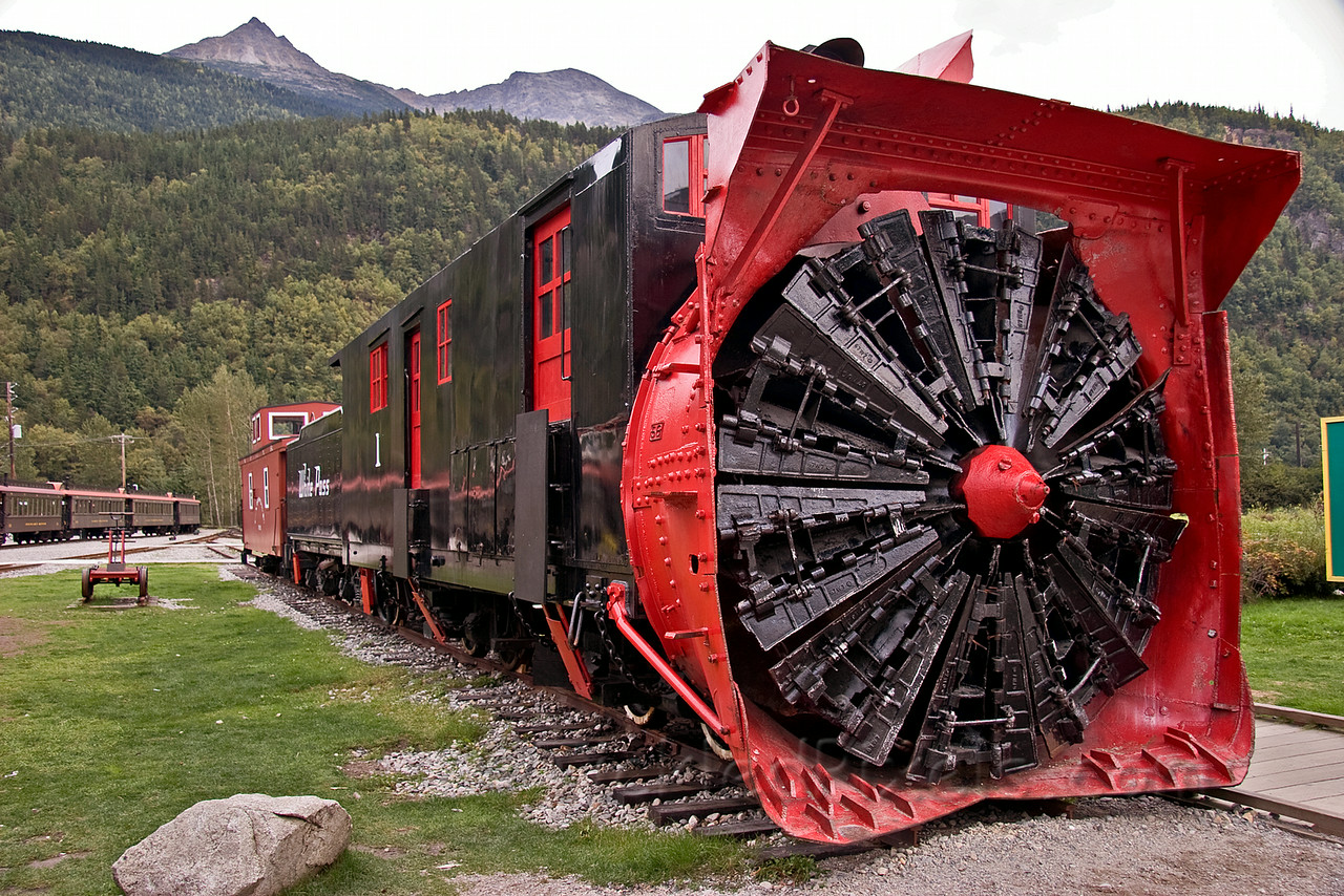 Steam Rotary Snowplow #1