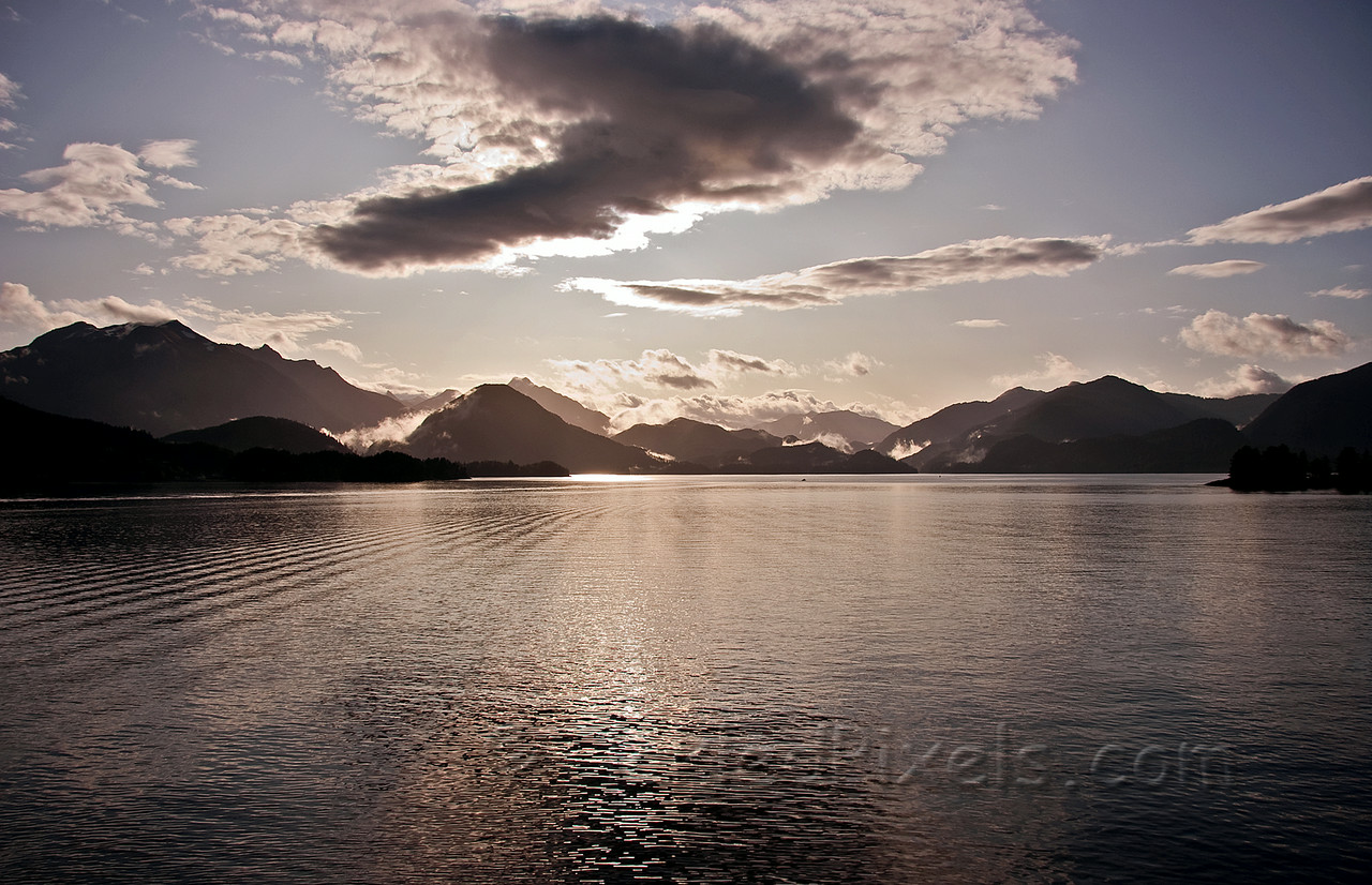 Morning Light - Sitka Sound