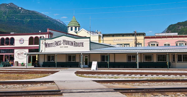 Skagway and the White Pass & Yukon Route Railroad
