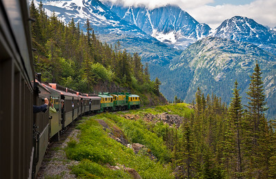 Skagway and the White Pass & Yukon Route Railroad