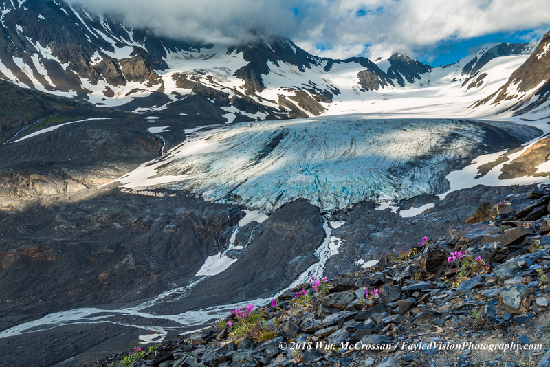 Raven Glacier at Crow Pass