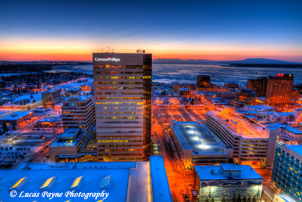 Downtown Anchorage ConocoPhillips Building<br /> (HDR) <br /> February 26, 2011