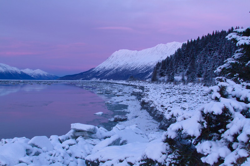 Turnagain Arm Sunrise
