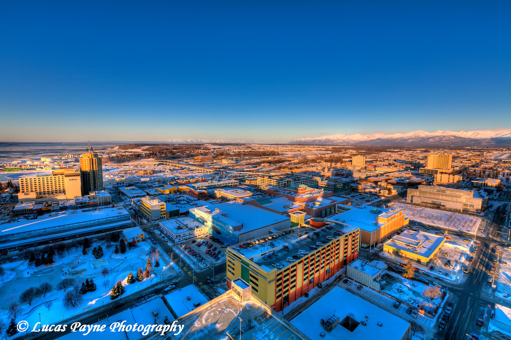 Downtown Anchorage <br /> (HDR) <br /> February 26, 2011