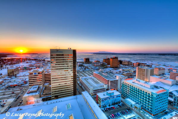 Downtown Anchorage<br /> (HDR) <br /> February 26, 2011