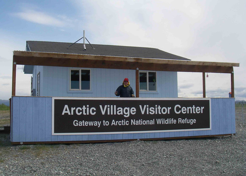 From Fairbanks, we flew to Arctic Village.  It's the home of the Gwich'in people, who are part of the Athabascan culture.