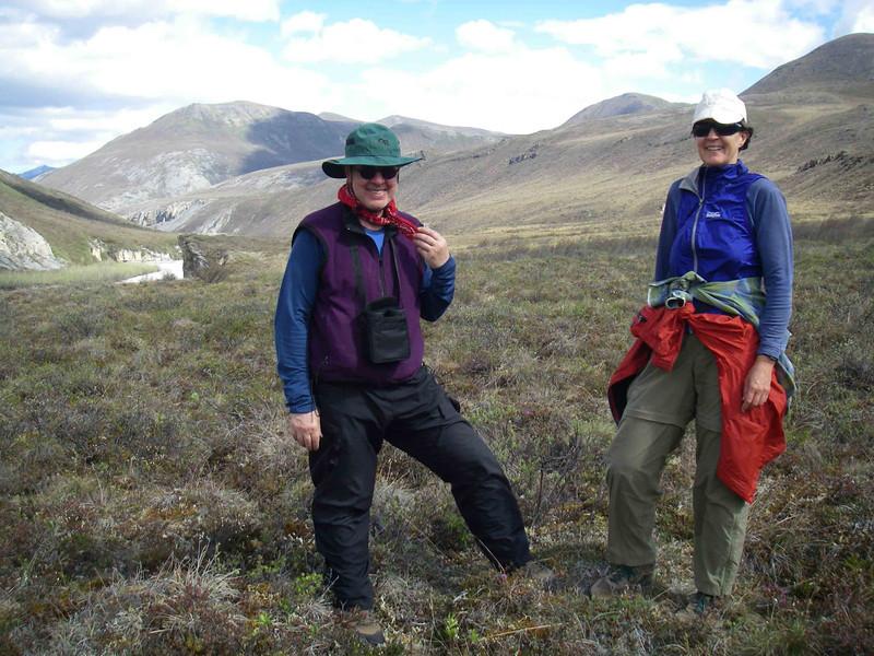 Art and Linda are true Arctic fashionistas!