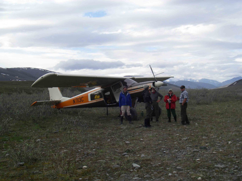 The next morning, our bush pilots were ready to whisk us back to civilization.