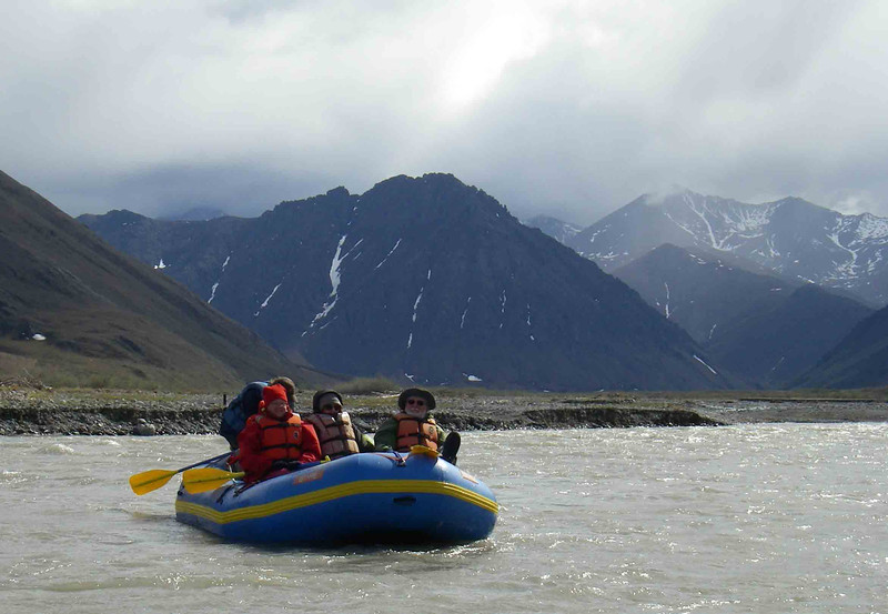 Rafting on the upper river.