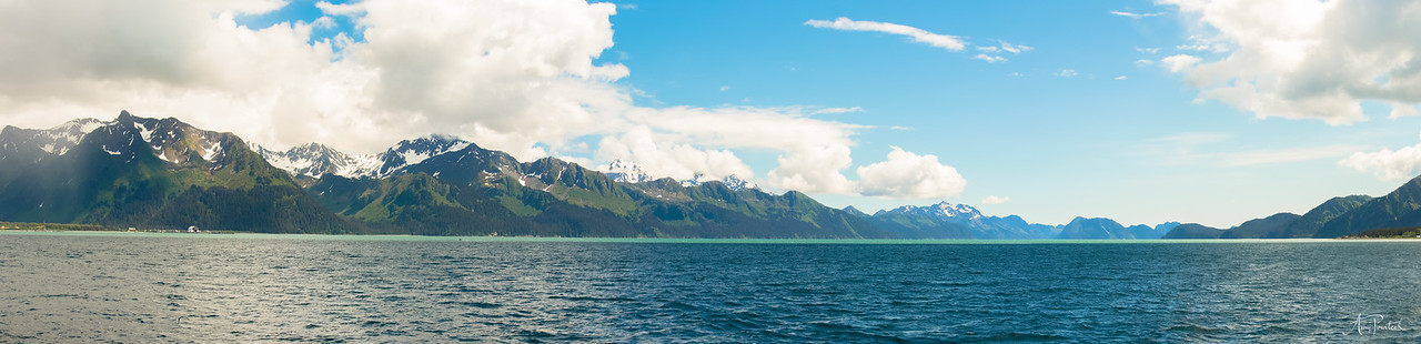 Resurrection Bay, Seward, Alska