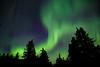 Partial Big Dipper with Aurora Borealis